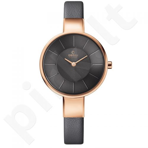 Moteriškas laikrodis Obaku V149LXVJRJ