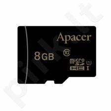 Apacer atminties kortelė Micro SDHC 8GB Class 10 UHS-I