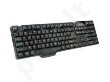 Natec Klaviatūra PIRANHA 2 BLACK USB