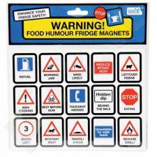 Šaldytuvo magnetukai - kelio ženklai
