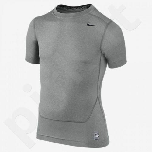 Marškinėliai termoaktyvūs Nike Core Compression SS Junior 522801-021