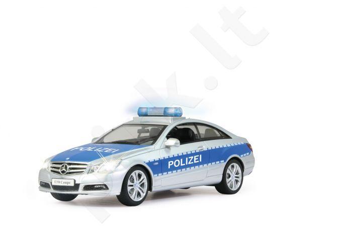 Radio bangomis valdomas Jamara Mercedes E350 Coupe 1:16 Polizei