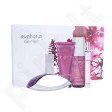 Calvin Klein Euphoria rinkinys moterims, (EDP 100 ml + EDP 10 ml + kūno losjonas 100 ml + kūno kvapas 150 ml)