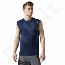Marškinėliai treniruotėms Reebok Work Out Ready Sleeveless Tech Top M AY2397