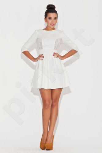 Suknelė K068 balkšvos atspalvio