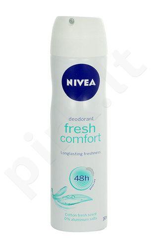 Nivea Fresh Comfort Anti-perspirant dezodorantas 48H, kosmetika moterims, 150ml