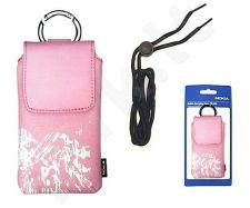Nokia universal dėklas CP-528 rožinis