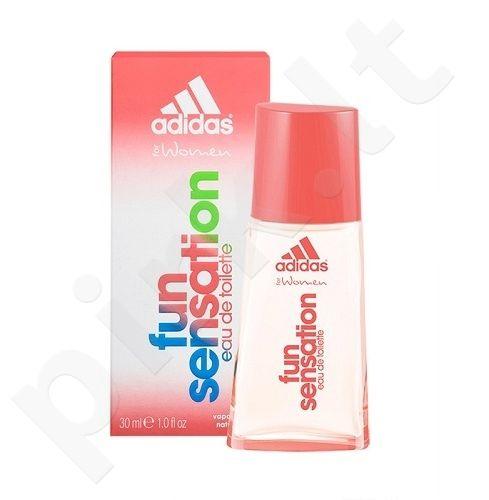 Adidas Fun Sensation, tualetinis vanduo (EDT) moterims, 75 ml