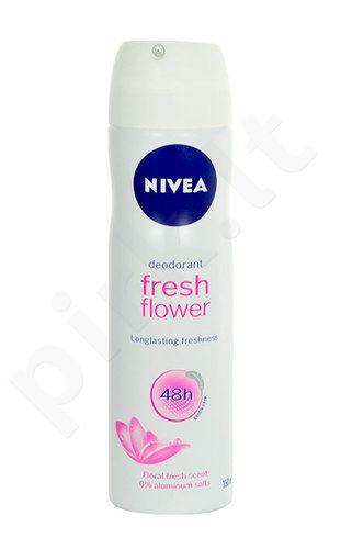 Nivea Fresh Flower Anti-perspirant dezodorantas 48H, kosmetika moterims, 150ml