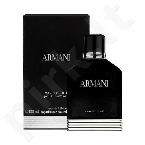 Giorgio Armani Eau de Nuit, tualetinis vanduo (EDT) vyrams, 50 ml