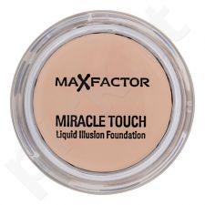 Max Factor Miracle Touch Liquid Illusion Foundation, kosmetika moterims, 11,5g, (60 Sand)