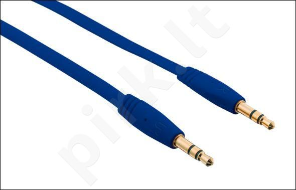 Flat Audio Cable 1m - blue