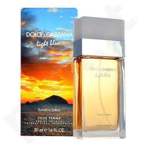 Dolce & Gabbana Light Blue Sunset in Salina, EDT moterims, 100ml