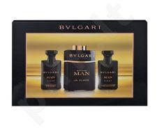 Bvlgari Man In Black rinkinys vyrams, (EDP 60ml + 40ml losjonas po skutimosi + 40ml dušo želė)