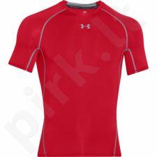 Marškinėliai termoaktyvūs Under Armour HeatGear Compression Shortsleeve M 1257468-600