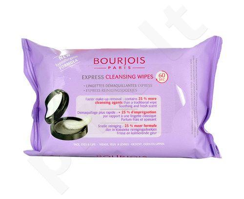 BOURJOIS Paris Express valomasis Servetėlės, kosmetika moterims, 25ks
