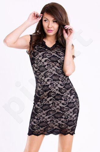Emamoda suknelė - kreminė 11004-2