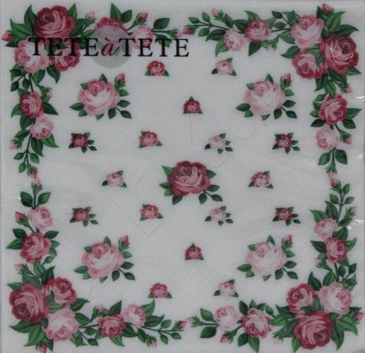 Servetėlės Tat Elegant Roses Frame 94993