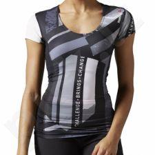 Marškinėliai Reebok One Series Activchill Short Sleeve Compression W B43497