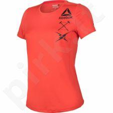 Marškinėliai treniruotėms Reebok Activchill Graphic Tee W B45060