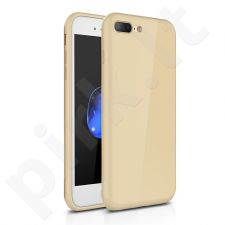 TPU minimalist back cover case, gold (iPhone 7 Plus/ 8 Plus)