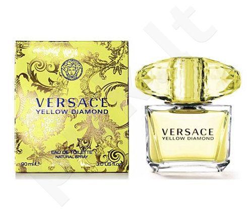 Versace Yellow Diamond, tualetinis vanduo (EDT) moterims, 90 ml