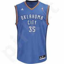 Marškinėliai krepšiniui adidas Oklahoma Kevin Durant L71437