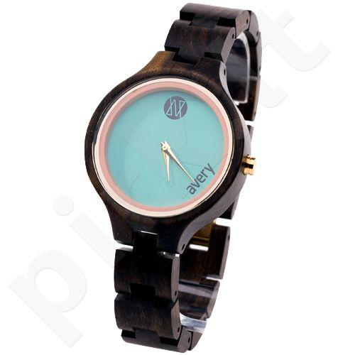 Avery Iono:Sphere AVIS410015 moteriškas laikrodis iš medžio