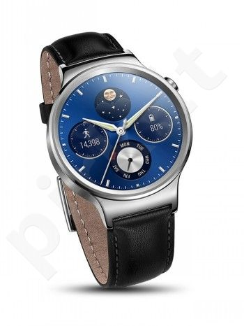 HUAWEI WATCH STAINLESS STEEL+BL LEATHER