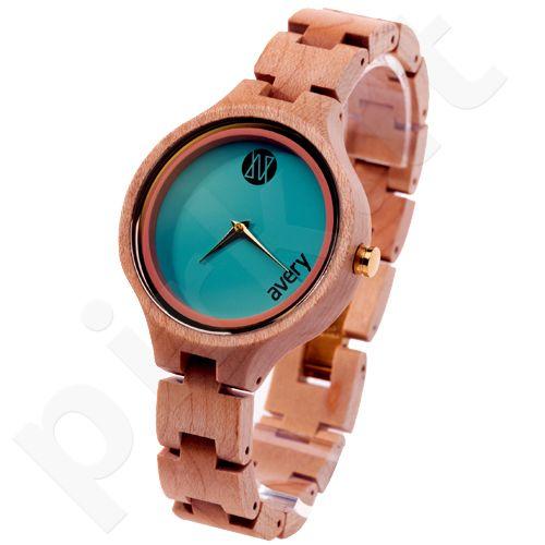 Avery Iono:Sphere AVIS510014 moteriškas laikrodis iš medžio