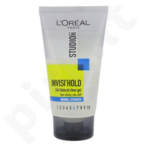 L´Oreal Paris Studio Line Invisi´ Hold 24H plaukų gelis, kosmetika moterims, 150ml