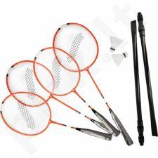 Badmintono rinkinys STIGA Family 4 raketės + tinklelis