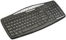 Natec Klaviatūra Multimedinė Ray Black juoda Slim USB
