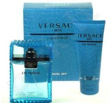 Versace (EDT 100 ml + 100 ml dušo želė) Man Eau Fraiche, rinkinys vyrams