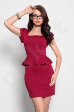 3919-3 suknelė pelerina - rubin