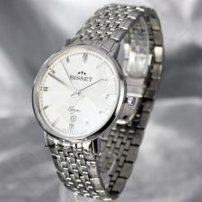 Vyriškas laikrodis BISSET Malibu Gents BSDC89 MS WH