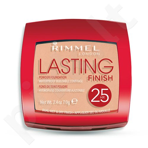Rimmel London Lasting Finish 25h pudra Foundation, kosmetika moterims, 7g, (003 Silky Beige)