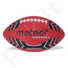 Kamuolys amerikietiškam futbolui Meteor Wingman 13012 raudona