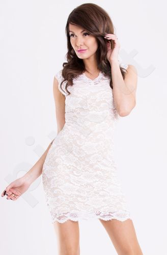Emamoda suknelė - balta 11004-4