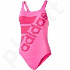 Maudymosi kostiumėlis Adidas Infinitex+ Solid One Piece Swimsuit W AY2902