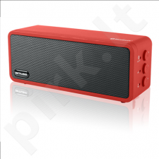 Muse M-350BTR 3 W, Bluetooth, Portable, Wireless connection, Red/Black