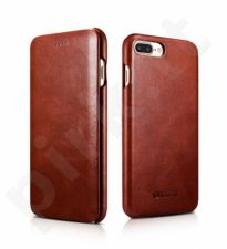 Vintage leather flip-case, brown (iPhone 7 Plus/ 8 Plus)