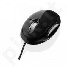 Pelė iBOX Swan, Optinė, PS2, Juoda