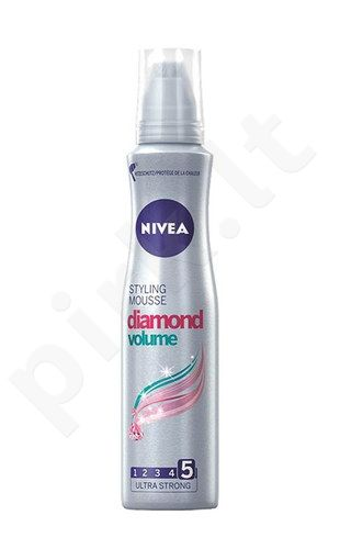 Nivea Diamond Volume Care, plaukų putos moterims, 150ml