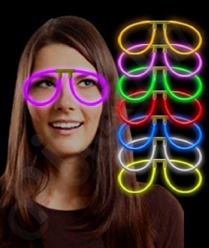 Šviečiantys akiniai (perlaužus)