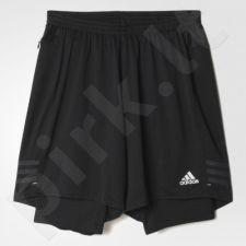 Bėgimo šortai Adidas Response Dual Shorts M AX6490