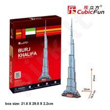 3D dėlionė: Burj Khalifa
