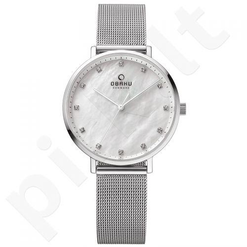 Moteriškas laikrodis Obaku V186LXCWMC