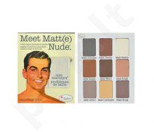 TheBalm Meet Matt(e) matinių akių šešėlių paletė, kosmetika moterims, 25,5g