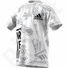 Marškinėliai adidas YB ID Print Tee Junior DJ1441